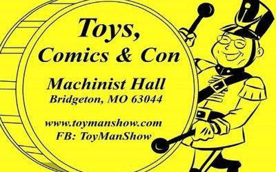 102-LIVE From ToyMan Toy Show w/ Owner Chris McQuillen, Muppets Artist Guy Gilchrist & Actor Scotty Schwartz!!