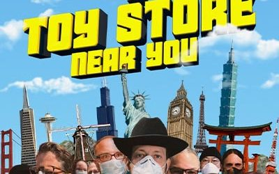 """176-Brian Volk-Weiss on """"A Toy Store Near You"""" on Amazon Prime May 29th"""