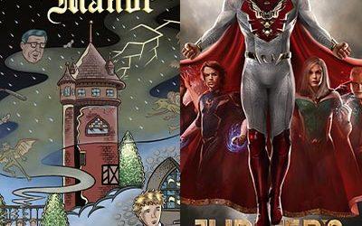 "226-Cartoonist Glenn Head on ""Chartwell Manor""-""Jupiter's Legacy"" with Stephanie Economou"
