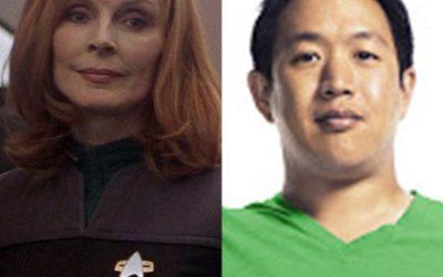 "224-Ming Chen and Gates McFadden of ""Comic Book Men"" and ""Star Trek"""
