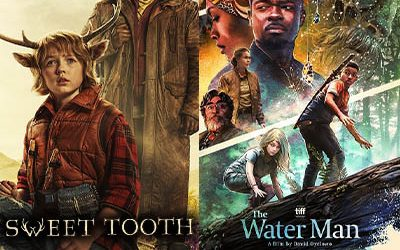 """228-DC's """"Sweet Tooth"""" w Christian Convery & Nonso Anozie-""""The Water Man"""" with Composer Peter Baert"""
