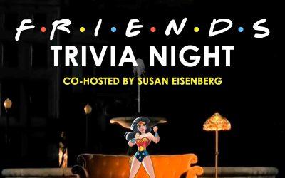 "236-Susan Eisenberg Co-Hosts ""Friends"" Trivia LIVE"