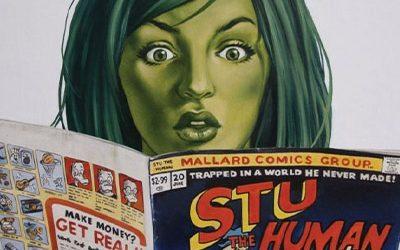 237-Dan Slott and Rick Burchett on She-Hulk, Batman, and More