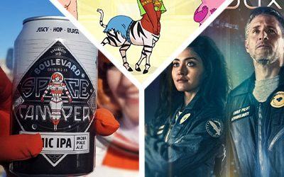 257-Yuri Lowenthal and Parvesh Cheena-Adam Hall of Boulevard Brewing on Space Camper